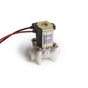 Electroválvula 24 Vdc N.C. con malla filtrante