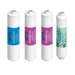 Pack de filtros ósmosis inversa conexión 1/4 rosca Green Flter