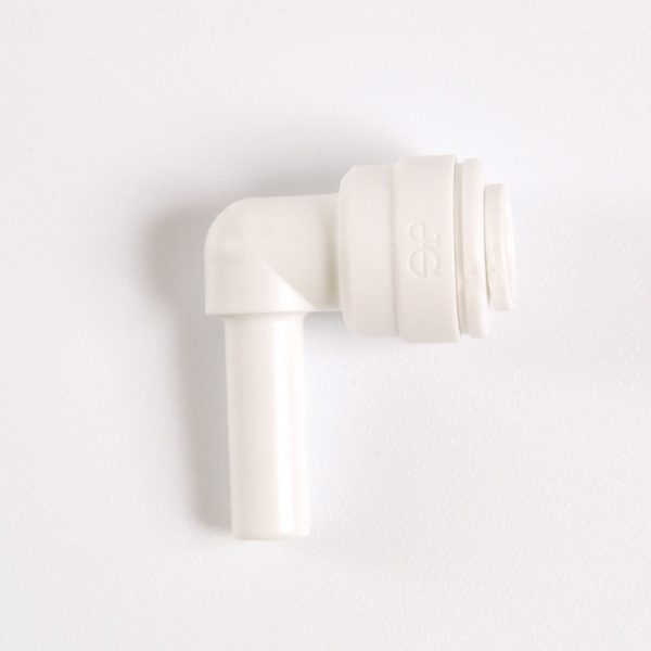 Codo espiga tubo 1/4 conexion rapida